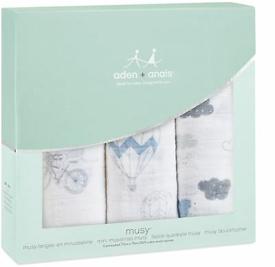 Aden + Anais Classic Musy 3 Pack Night Sky Reverie Baby Feeding Bibs Bn Aromatic Character And Agreeable Taste