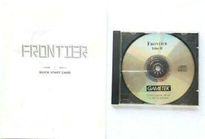 Frontier-Elite-ll-2-1995-PC-Game-Disc-amp-Quick-Start-GameTek-Card