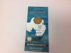 "2013 Polar Animals /"" WALRUS /"" Uncirculated $1 One Dollar Coin UNC in Card"