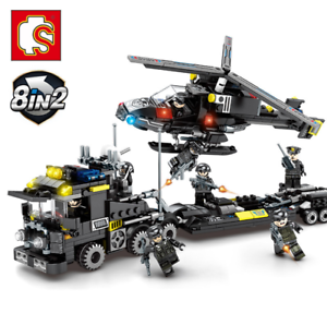 Building-Blocks-Helicopter-Military-8in1-Kids-Figure-Toys-Model-Collection-Gifts
