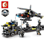 Building-Blocks-Helicopter-Military-8in1-Kids-Figure-Toys-Model-Collection-Gifts thumbnail 1