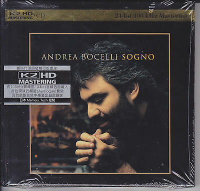 """Andrea Bocelli - Sogno"" Japan Audiophile K2HD Mastering CD New Sealed"