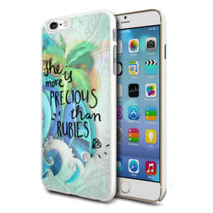 For-Various-Phones-Design-Hard-Back-Case-Cover-Skin-More-Precious-Than-Rubies