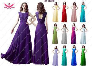 Long-Chiffon-Lace-Wedding-Bridesmaid-Dresses-Sleeves-Sheath-Maid-Of-Honor-Party