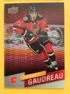 2015 Upper Deck Hockey Tim Hortons Franchise Force #4 Johnny Gaudreau Flames