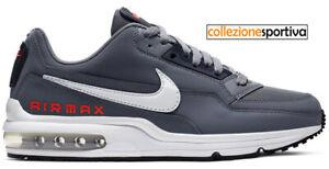 Dettagli su SCARPE UOMODONNA NIKE AIR MAX LTD 3 CK0899 002 col. grigiobiancorosso
