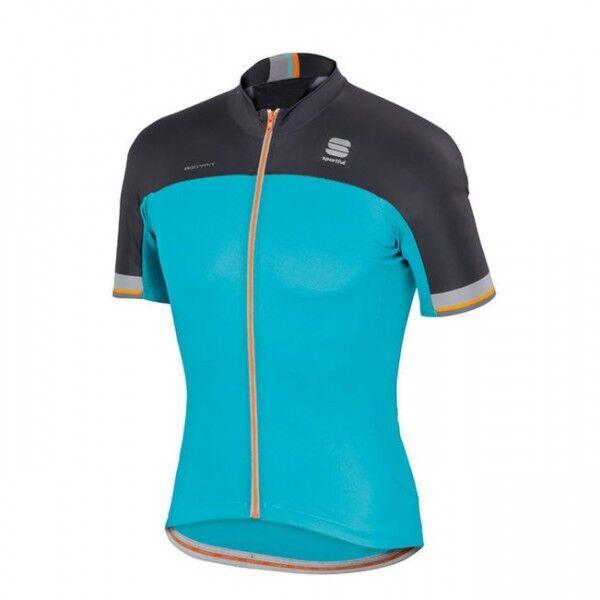 Sportful Bodyfit Bodyfit Bodyfit pro Team Jersey Camiseta de Bicicleta Culotte Azul Negro   aab042