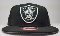 Los Angeles Oakland Raiders Era 9fifty Black Tone Basic Mvp Snapback Hat Cap