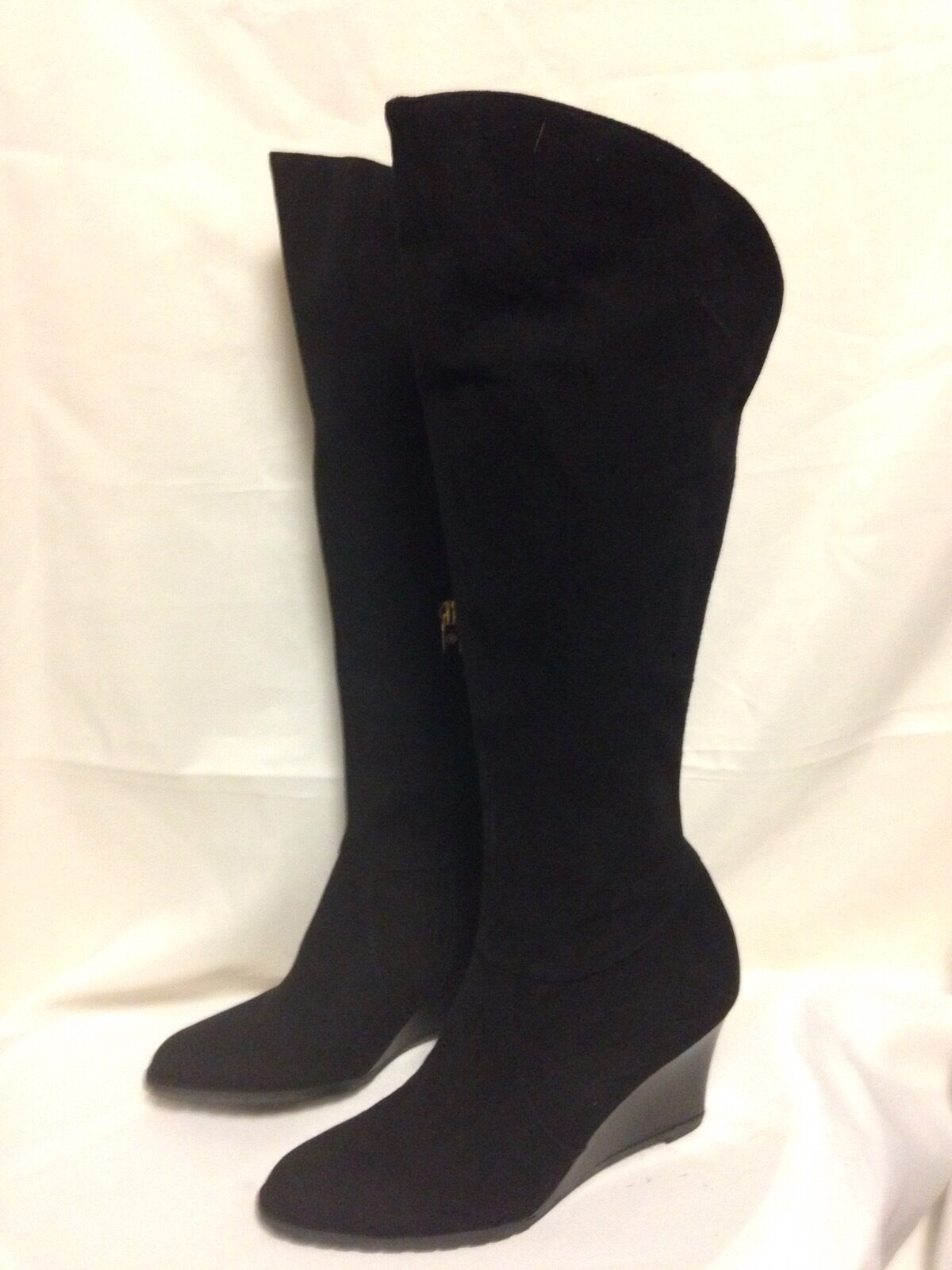 più economico LK Bennet Nancy Wedge Heel Knee High avvio 38 38 38 M nero New without Box  esclusivo