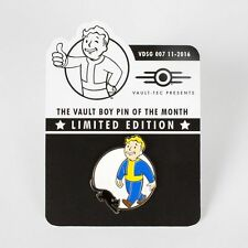 Fallout Vault Boy Limited Metal Pin Of The Month Luck Perk - 3 4 5 New Vegas