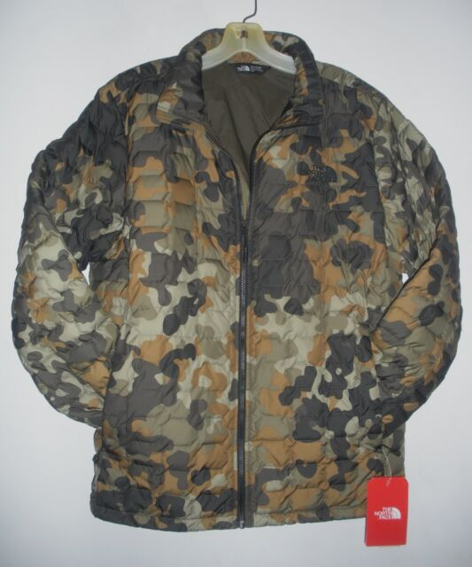 c8ed4a431 THE NORTH FACE MENS THERMOBALL JACKET-A3KTV-TAUPE GREEN CAMO PRINT  -M,L,XL,XXL