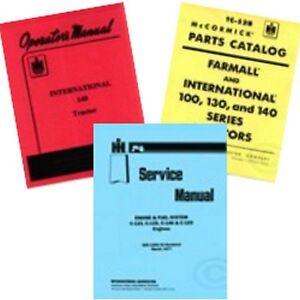 FARMALL-140-SERVICE-SHOP-OPERATORS-OWNERS-PARTS-MANUAL