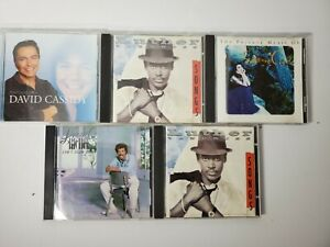 CD Lot of 5 Classic Rock R&B Lionel Richie Luther Vandross David Cassidy Ciani