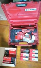 Hilti Dx 460 Concrete Nailer Powder Actuated Gun With Mx 72 Hard Case Amp Boosters