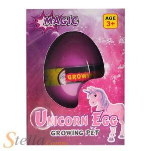 Unicorn Egg Hatching Growing Pet Grow Your Own Unicorn ...
