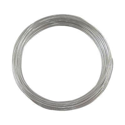 Rouleau de 10 mètres de fil métal aluminium  Ø 1 mm cordon bobine