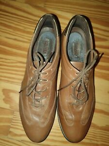 Details zu Ecco Damen Sneaker Gr.41 UK 7 Schnürschuhe Halbschuhe Braun Top