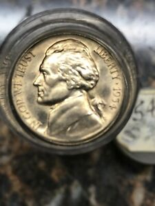 1953 5c Jefferson Nickel US Coin Uncirculated Mint State