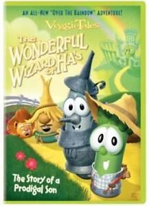 VeggieTales-The-Wonderful-Wizard-of-Ha-039-s-DVD