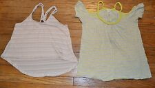 POOF Sleeveless Top & One Clothing Off Shoulder Short Sleeve Top Size Medium