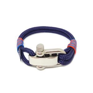 Blue-Sailing-Rope-Bracelet-Mens-Womens-Handmade-Nautical-Bracelet