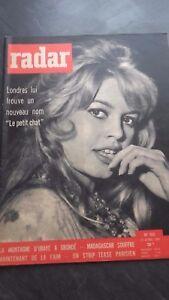 "Brigitte Bardot Rivista Radar N° 532 "" Il Petit Gatto "" 1959 IN Folio"