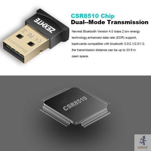 Adaptador Bluetooth Para PC USB Dongle Receptor De Transferencia hot