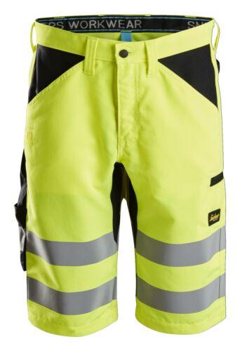 Class 1 Snickers 6132 LiteWork High-Vis Shorts