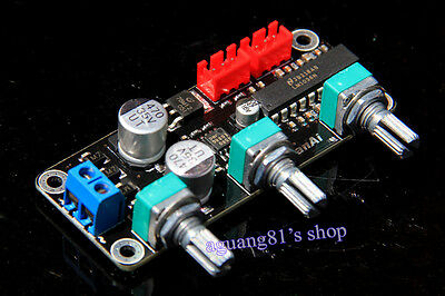 LM1036N Tone Preamplifier Volume Control Stereo Board Amplifier Board