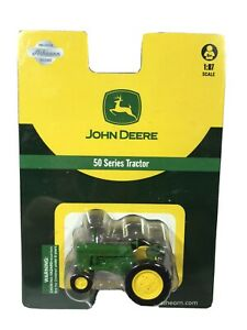 Athearn-John-Deere-50-Series-Tractor-1-87-HO-Scale-7701-Factory-Sealed-B6