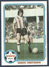 TOPPS 1980 FOOTBALL POSTER- #05-SOUTHAMPTON & ENGLAND-WERDER BREMEN-DAVE WATSON