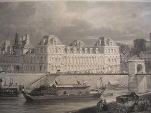 """L'hiver à Paris 1840 """" Hotel De Ville """" Neb2ce6e-10034755-730212052"""
