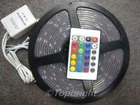 5M SMD 5050 RGB Waterproof 300 LED Strip + IR Remote