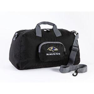 Details About Baltimore Ravens Mini Duffle Bag