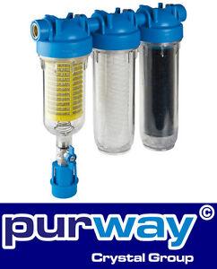 Hydra-rainmaster-Trio-rlh-la-1-034-pulgadas-filtros-de-agua-carcasa-plus-filtro