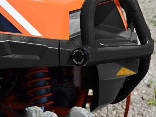 Wrinkle Black SuperATV Polaris General 1000 Heavy Duty Front Bumper 2016+