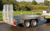 BATESON GP1054 10'x5' PLANT CLASSIC CAR TRACTOR MACHINERY RECOVERY TRAILER