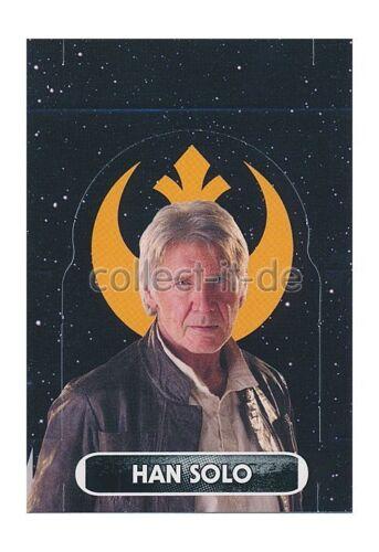 Force Attax Movie 4 EXTRA 132 Aufsteller Han Solo