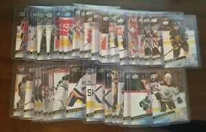 2020-21 UD Series 1 & 2 Young Guns RC Rookie -Pick From List (201-250) (451-500)