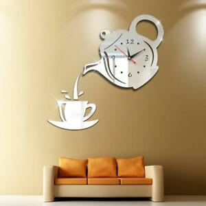 3D-Teapot-Decorative-Wall-Clock