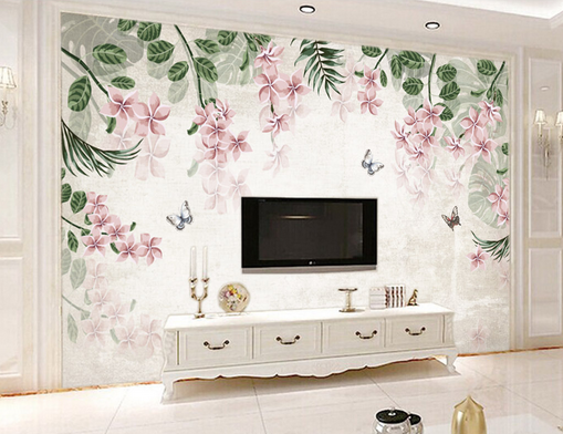 3D Misty Blumen Gärten 45 Tapete Tapeten Mauer Foto Familie Tapete Wandgemälde
