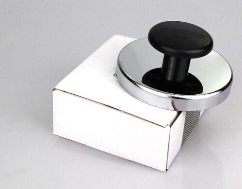 Ø 80 mm Runder Magnet mit Chromblende und Knauf bis 40 Kg Tifler Rundmagnet
