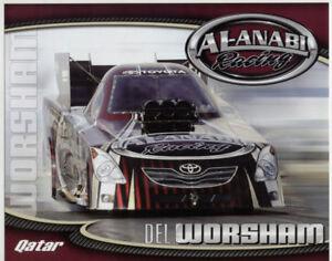 2010 Del Worsham Al Anabi Toyota Camry Funny Car Nhra Postcard Ebay