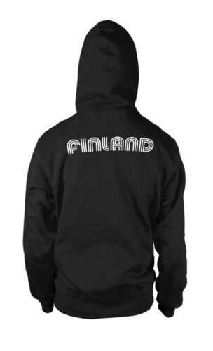 Finland Finnish National Country Pride Suomi Futbol Soccer Hoodie Pullover