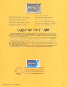 9728-32c-Supersonic-Flight-Stamp-3173-USPS-Souvenir-Page