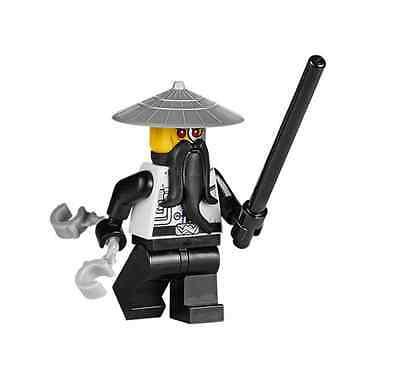 Mini Fig // Mini Figure NINJAGO LEGO 70725 Evil Sensei Wu