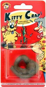 New Fake Cat Poo Turd Practical Joke Prank Gag Kitty Crap Party Bag Fillers P13