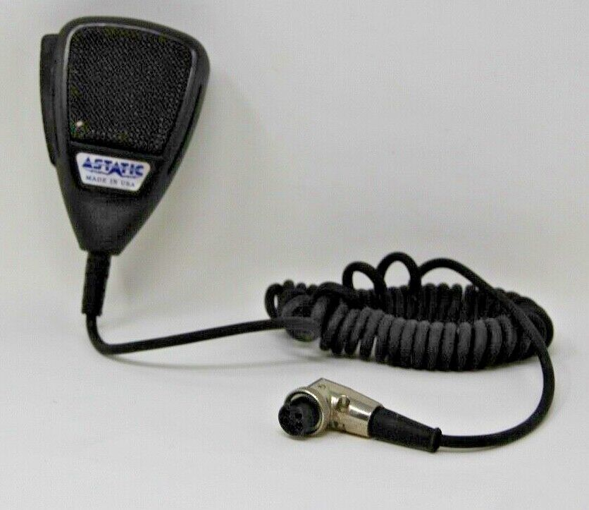 Astatic Model 575M-6 575M6 CB Radio Power Microphone Full Cord Rare Collectible. Available Now for 199.88