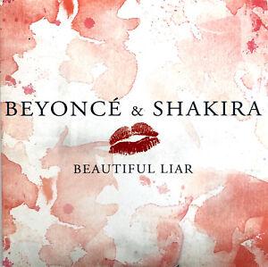 Beyonce-amp-Shakira-CD-Single-Beautiful-Liar-Europe-VG-VG
