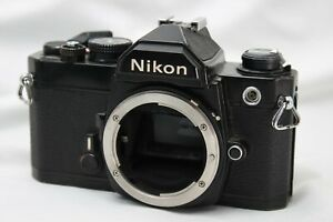 As-Is-Nikon-FM-SLR-Film-Camera-Body-Only-Working-MS08a